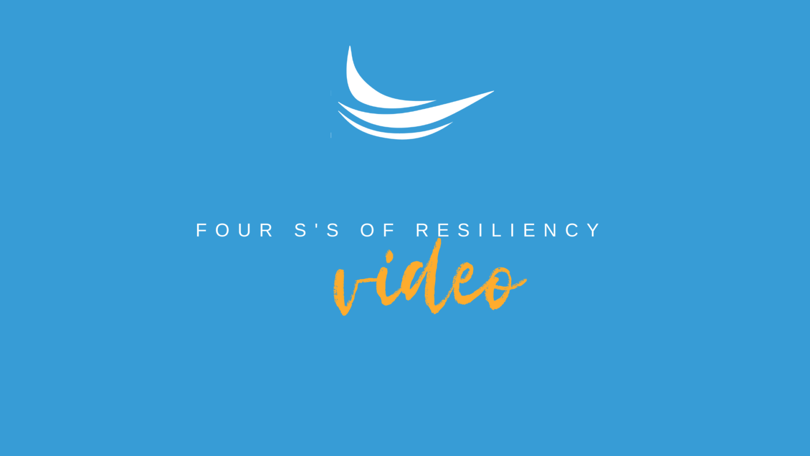 Four S's of Resiliency